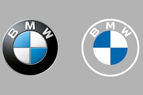 BMW công bố logo mới - ảnh 1