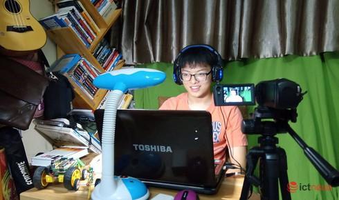 Hà Nội: Học sinh lớp 11 làm clip hướng dẫn khai báo y tế qua app NCOVI - ảnh 1