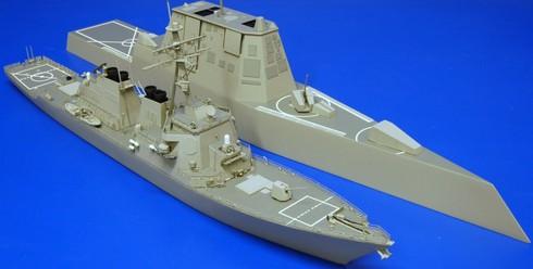 Siêu hạm Zumwalt Mỹ sẽ