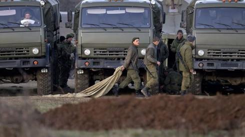 Nga rút dần quân khỏi biên giới với Ukraine - ảnh 1
