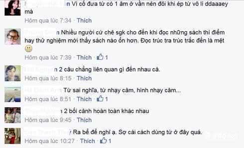 Giáo viên phản ứng với đoạn văn dạy trẻ lớp 1 trong sách Tiếng Việt - ảnh 6