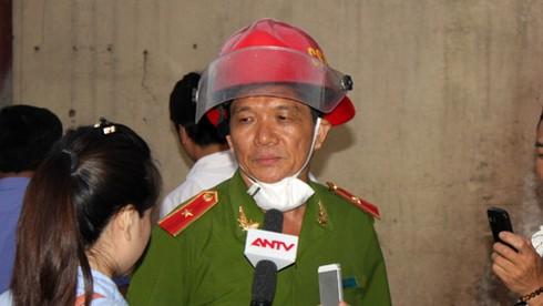 Giám đốc Sở PCCC HN nói về vụ cháy cây xăng - ảnh 1
