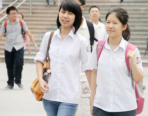 Công bố điểm trung bình thi ĐH 2014 các trường THPT tại Hà Nội - ảnh 1