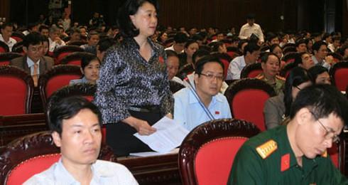 Về đại biểu QH Đặng Thị Hoàng Yến: Đã kỷ luật thẩm phán TAND tỉnh Long An