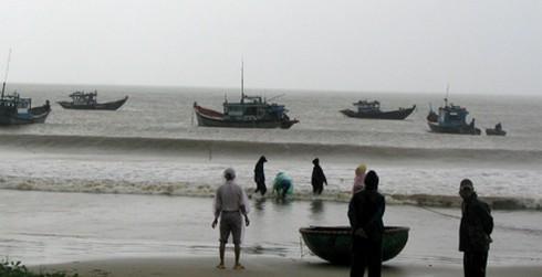 Hơn 300 tàu cá đợi can thiệp vào tránh áp thấp nhiệt đới