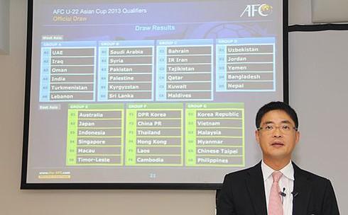 Việt Nam 'dễ thở' tại vòng loại U22 châu Á 2013