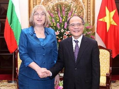 Việt Nam coi trọng phát triển quan hệ với Bulgaria