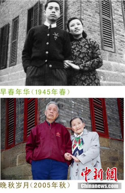 Cảm động đôi vợ chồng già chụp lại ảnh cưới sau 70 năm ở cùng địa điểm - ảnh 5