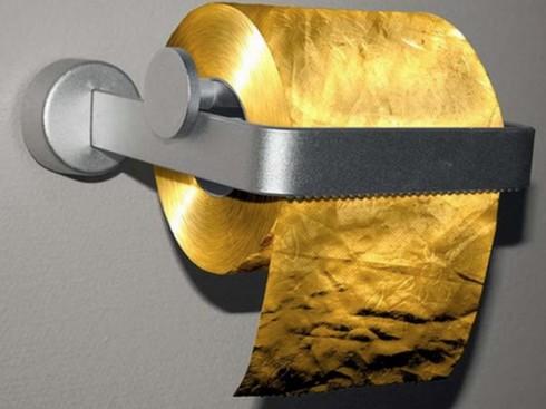 Sốc với cuộn giấy vệ sinh bằng vàng 22K, giá 34 tỷ đồng - ảnh 6