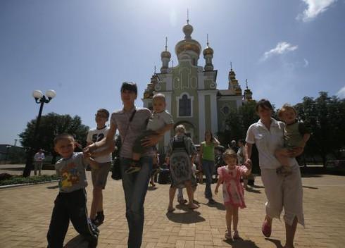 Đông Ukraine: Giao tranh ác liệt, người dân tháo chạy - ảnh 2