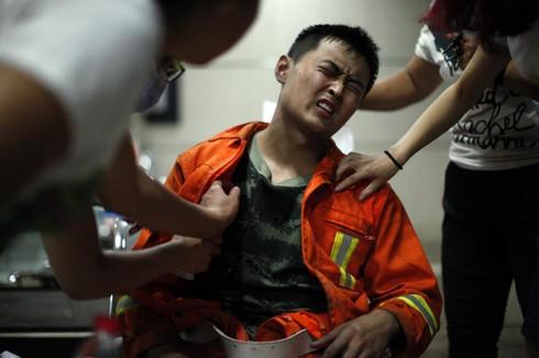 Vụ nổ ở Trung Quốc: Nguy cơ cháy nổ, rò rỉ hóa chất vẫn tiềm ẩn - ảnh 2