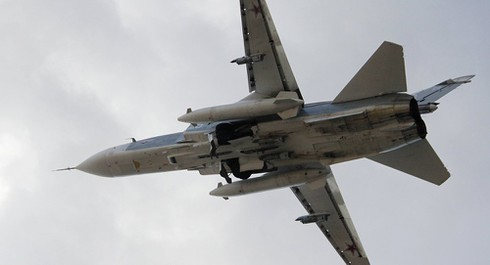 Thổ Nhĩ Kỳ bắn rơi Su-24 Nga gần biên giới Syria? - ảnh 1