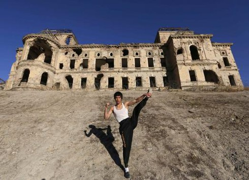 """Lý Tiểu Long """"tái sinh"""" của Afghanistan gây sốt cộng đồng mạng - ảnh 3"""
