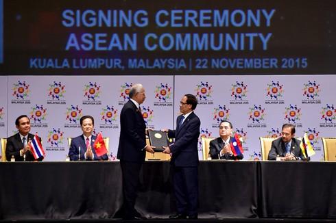 Giới thiệu về Cộng đồng ASEAN - ảnh 1