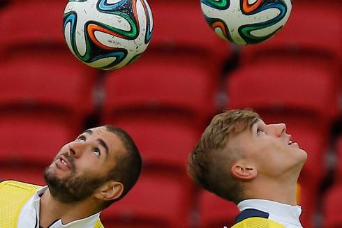20 bức ảnh báo chí tuyệt đẹp về World Cup những ngày qua - ảnh 1
