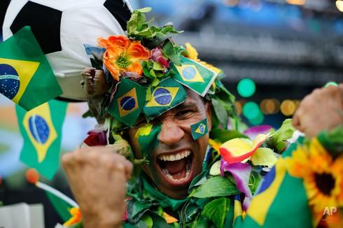 20 bức ảnh báo chí tuyệt đẹp về World Cup những ngày qua - ảnh 2