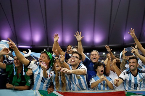 20 bức ảnh báo chí tuyệt đẹp về World Cup những ngày qua - ảnh 21