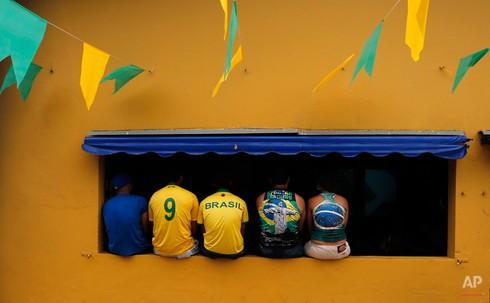 20 bức ảnh báo chí tuyệt đẹp về World Cup những ngày qua - ảnh 4