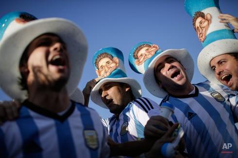 20 bức ảnh báo chí tuyệt đẹp về World Cup những ngày qua - ảnh 8