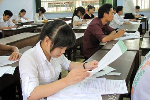 Hơn 1 triệu thí sinh chính thức bước vào kỳ thi THPT quốc gia - ảnh 1