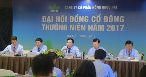 Nông dược HAI thông qua kế hoạch doanh thu 1.615 tỷ đồng năm 2017 - ảnh 1