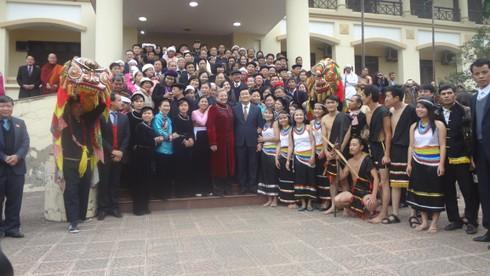 Chủ tịch nước dự lễ cầu an của dân tộc Lô Lô - ảnh 1