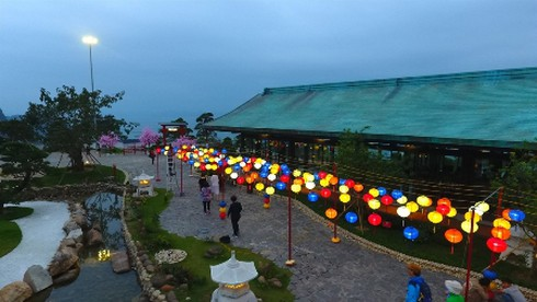 Lễ hội Mặt trời mọc lần đầu tiên diễn ra tại Sun World Halong Complex - ảnh 6