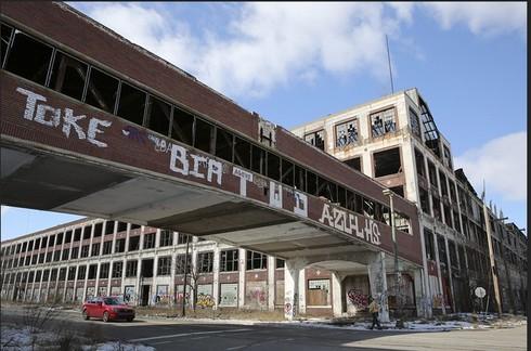 Detroit - thành phố đầu tiên của thế giới nộp đơn phá sản - ảnh 1