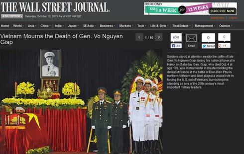 Báo nước ngoài: Lễ tang Đại tướng Võ Nguyên Giáp xúc động hiếm có - ảnh 3