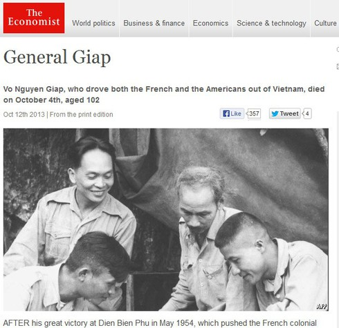 Báo nước ngoài: Lễ tang Đại tướng Võ Nguyên Giáp xúc động hiếm có - ảnh 4