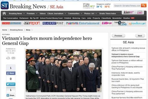 Báo nước ngoài: Lễ tang Đại tướng Võ Nguyên Giáp xúc động hiếm có - ảnh 5