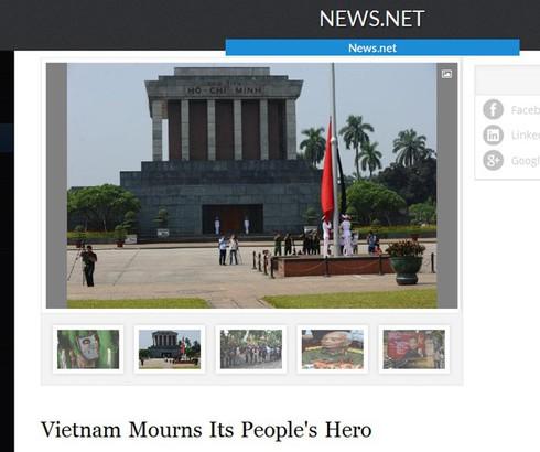 Báo nước ngoài: Lễ tang Đại tướng Võ Nguyên Giáp xúc động hiếm có - ảnh 6