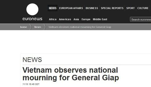 Báo nước ngoài: Lễ tang Đại tướng Võ Nguyên Giáp xúc động hiếm có - ảnh 8