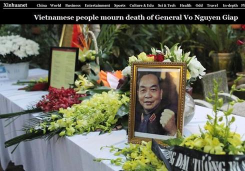 Báo nước ngoài: Lễ tang Đại tướng Võ Nguyên Giáp xúc động hiếm có - ảnh 7