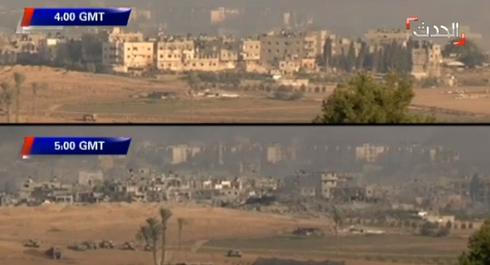 Chỉ trong 1 giờ không kích, Israel xóa sổ một khu vực ở Gaza - ảnh 1