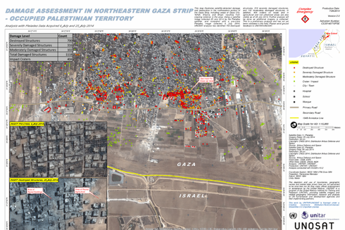 Chỉ trong 1 giờ không kích, Israel xóa sổ một khu vực ở Gaza - ảnh 2