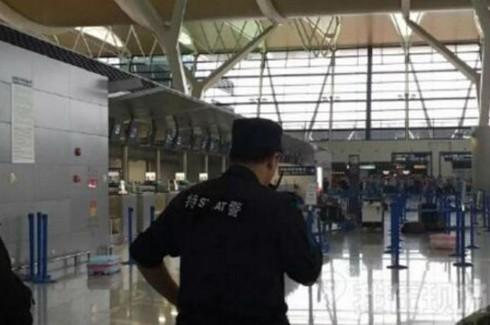 Nổ lớn ở sân bay Phú Đông, Thượng Hải, kẻ đánh bom cắt cổ tự sát - ảnh 1