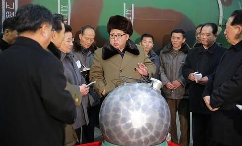 Kim Jong-un hô hào Triều Tiên tăng cường sức mạnh hạt nhân - ảnh 1