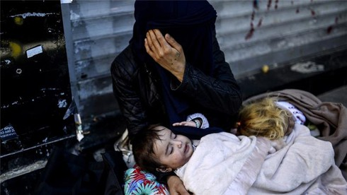 Khủng hoảng tị nạn châu Âu: Khi các nạn nhân còn quá nhỏ - ảnh 5