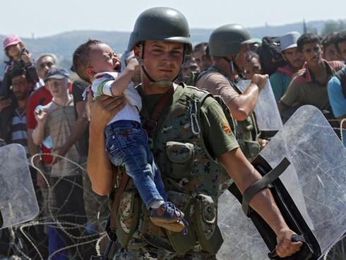 Khủng hoảng tị nạn châu Âu: Khi các nạn nhân còn quá nhỏ - ảnh 7