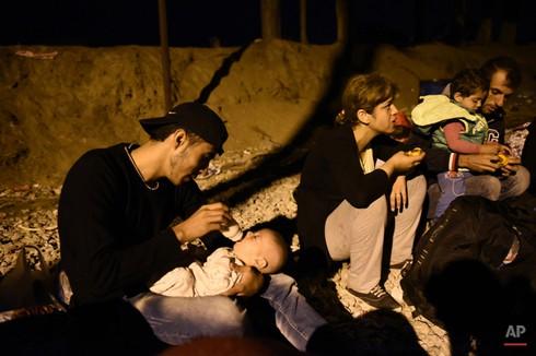 Khủng hoảng tị nạn châu Âu: Khi các nạn nhân còn quá nhỏ - ảnh 8
