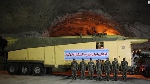 Hình ảnh cực hiếm trong căn cứ tên lửa ngầm của Iran - ảnh 4