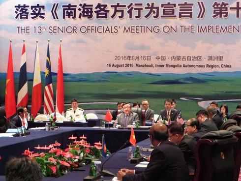 Trung Quốc muốn cùng ASEAN thông qua COC vào năm 2017 - ảnh 1