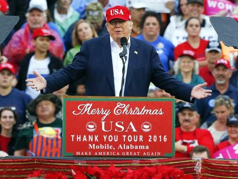 Donald Trump là Tổng thống đắc cử có tỷ lệ ủng hộ thấp nhất trong 25 năm qua - ảnh 1