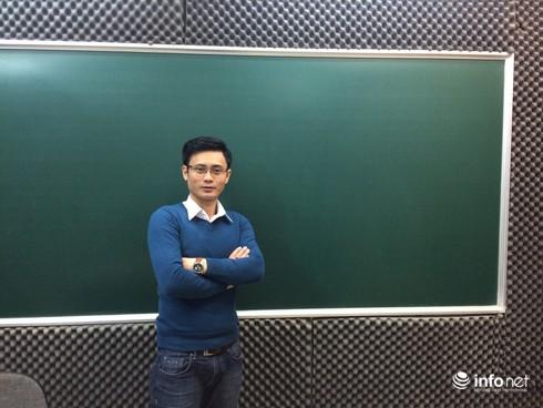 Thầy giáo đẹp trai chia sẻ bí quyết ôn tập tốt môn Toán thi THPT năm 2016 - ảnh 1