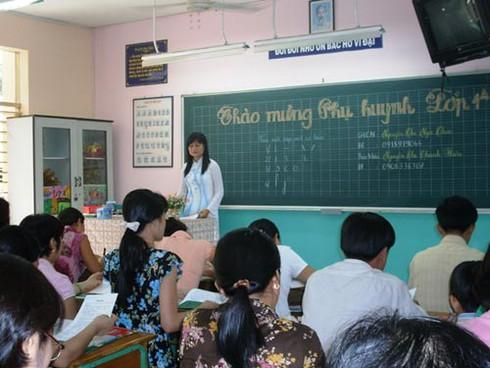 Họp phụ huynh kín theo Thông tư 22: Giáo viên trường tư thục ủng hộ - ảnh 1