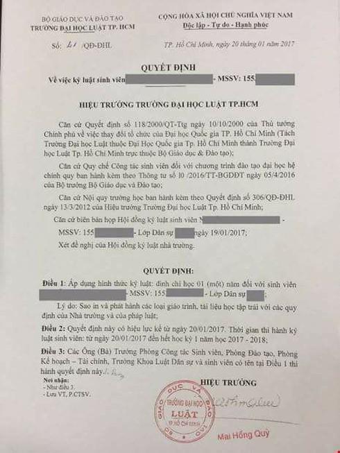 GS Nguyễn Minh Thuyết: Kỷ luật sinh viên mang giáo trình photo là thiếu căn cứ - ảnh 1