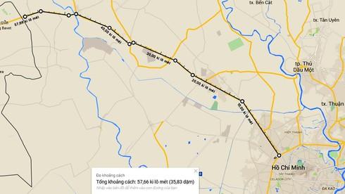 TP.HCM: Mở rộng tuyến quốc lộ huyết mạch nối với Campuchia - ảnh 1