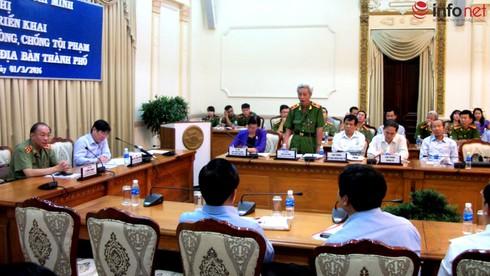 Chủ tịch TP.HCM: Phòng chống tội phạm không phải việc riêng của công an! - ảnh 1