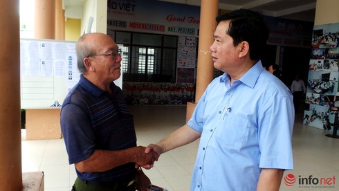 Ông Đinh La Thăng tiếp xúc cử tri huyện Củ Chi - ảnh 1